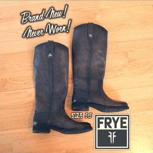 FRYE - Brand New - Melissa Button Tall Lug Boot